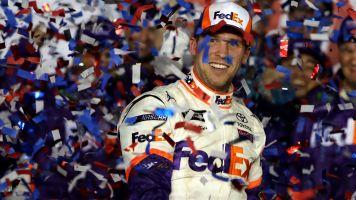 Drive-thru: JGR takes Daytona trophy out to eat