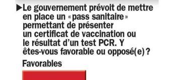 """Consensus sur le """"pass sanitaire"""""""
