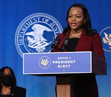 Kristen Clarke, Joe Biden's pick for top civil rights job, tells senators about her own son