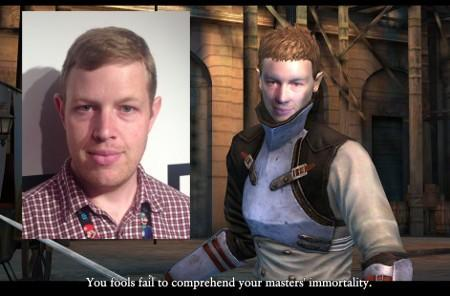 Square Enix uses your face for action in Bloodmasque