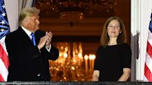 US Election 2020: Democrats fume at Trump's unusual photo-op