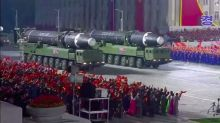 North Korea Displays Huge New Intercontinental Ballistic Missile at Coronavirus-defying Parade