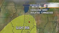 Severe storms possible in Indiana forecast
