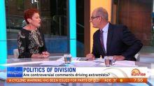 Kochie clashes with Pauline Hanson over anti-muslim rhetoric