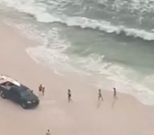 Beaches on Florida Panhandle Closed to Swimmers as Hurricane Sally Approaches