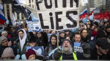 Protestas en Rusia contra medidas de control de internet