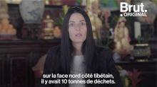 Marion Chaygneaud-Dupuy a débarrassé l'Everest de plusieurs tonnes de déchets