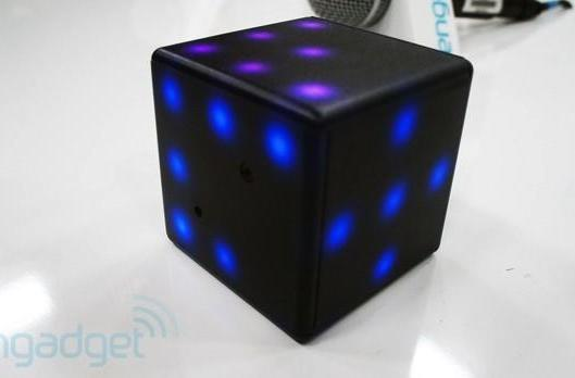 Princip Interactive LED Futuro Cube hands-on