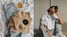 比毛衣舒適,又比衛衣率性時尚!這件針織衛衣成為了日常穿搭的必備單品