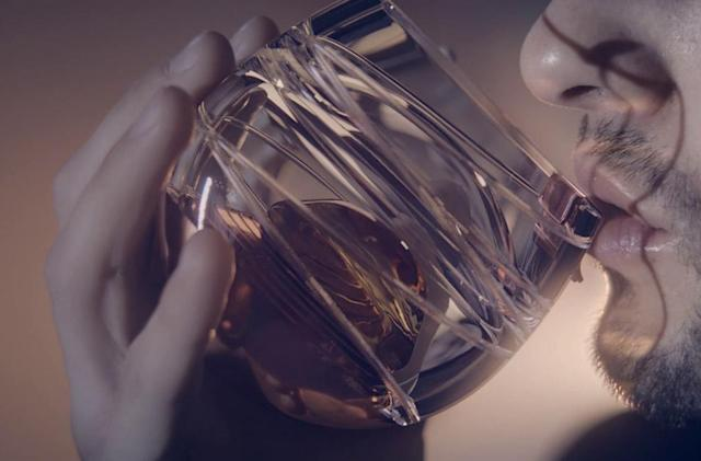 Ballantine designs 'space glass' for drinking whiskey in microgravity