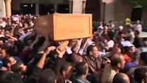 Funeral takes place in Cairo for student protester killed by police