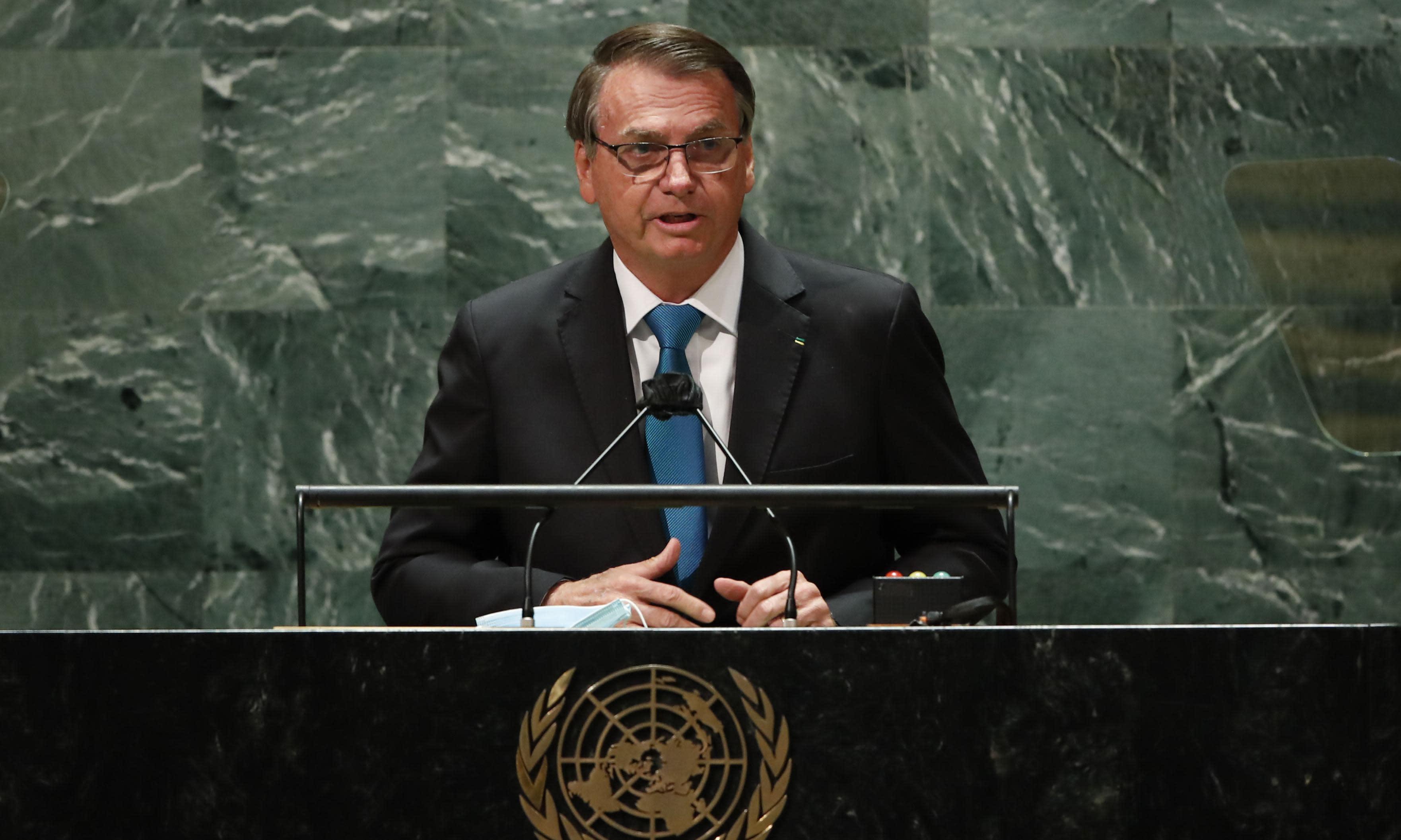Bolsonaro vowed to show a new Brazil but 'lie-filled' UN speech cuts little ice