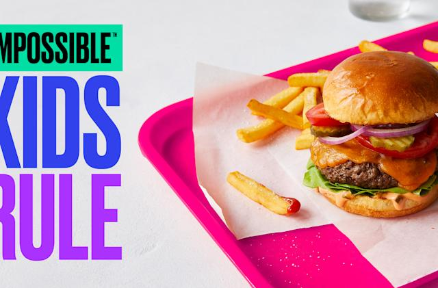 Impossible Burgers are coming to US schools