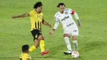 Gustavo Gómez vê empate do Palmeiras como resultado justo