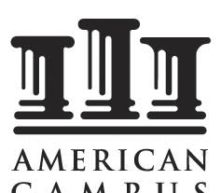 American Campus Communities, Inc. Reports Third Quarter 2020 Financial Results
