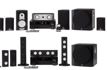 Yamaha's four updated HTIB systems have you surrounded