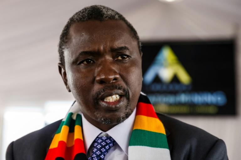 Leading Zimbabwean businessman Kudakwashe Tagwirei, seen on a July 2018 visit to South Africa, has been hit by sanctions by the United States