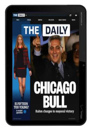 The Daily coming to Android tablets this spring?