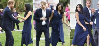 Harry and Meghan's major PDA in Melbourne