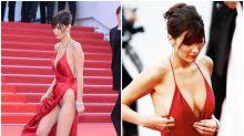 Los descuidos más sonados de las famosas en el Festival de Cannes