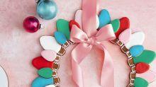 Christmas Light Gingerbread Cookies