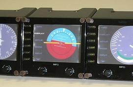 Saitek independent LCD interface boxes for flight sims