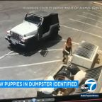 Woman arrested in dumping of 7 newborn puppies into Coachella dumpster