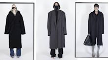 Balenciaga Prepares Us For A Long Cold Winter With Oversized Coats