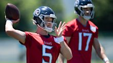 Logan Woodside 'very eager' to secure backup quarterback job for Tennessee Titans in 2021