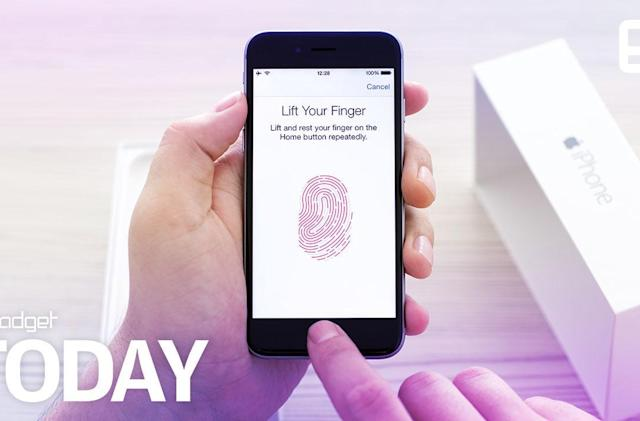 Apple could let you discreetly call 911 with your fingerprint