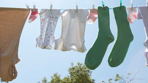 Tricks and Tips for Line Drying Clothes