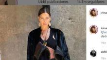 Irina Shayk y Bradley Cooper escenifican su buena relación en el desfile de Burberry