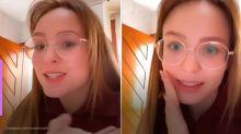Aos 19 anos, Larissa Manoela revela ainda ter dente de leite