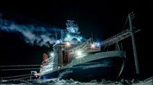 "Eisscholle des Forschungsschiffs ""Polarstern"" nach zehn Monaten zerbrochen"