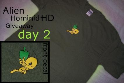 Fanswag: Alien Hominid HD Giveaway day 2 [update 1]