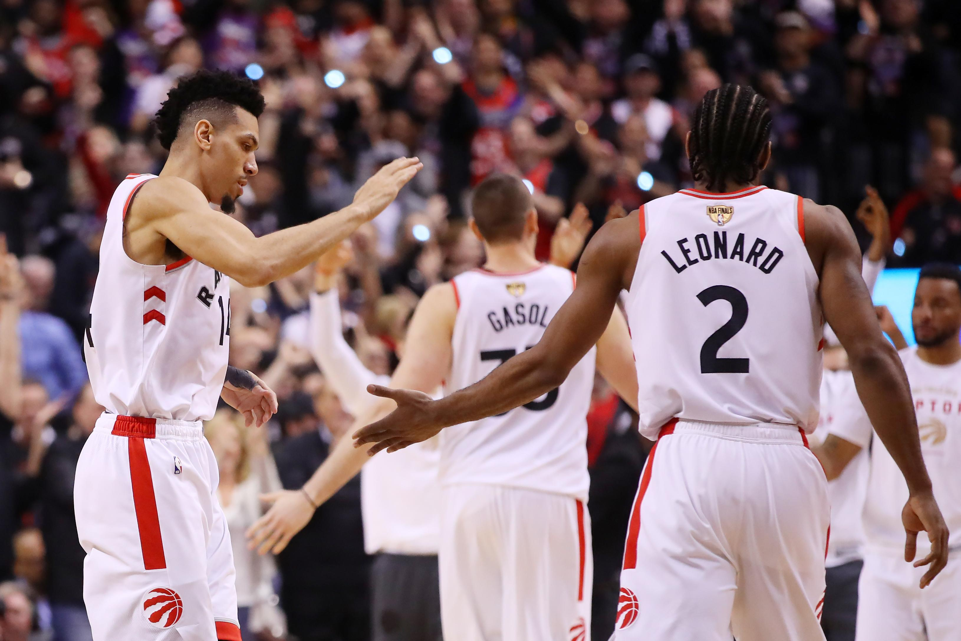 Danny Green on how Kawhi Leonard's free agency affected his own decision