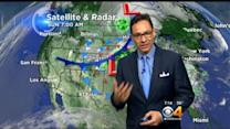 Sunday Forecast: Cold Front Begins To Push Big Storm Out