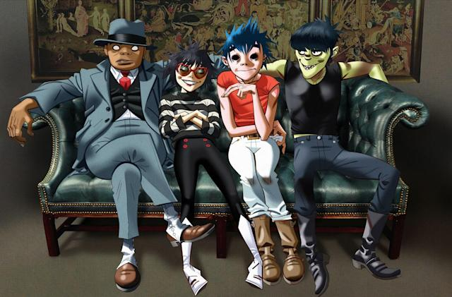 Gorillaz are throwing a house party in mixed reality
