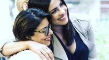 Priyanka Chopra shares a candid photo with her Girl Hero Madhu Chopra