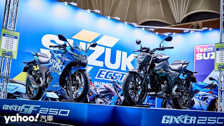 再次見面也依舊心動!2021 Suzuki Gixxer 250、SF 250台北重型機車展賞車! - 15