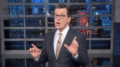 Stephen Colbert Diagnoses Donald Trump's Deranged Sunday Tweetstorm