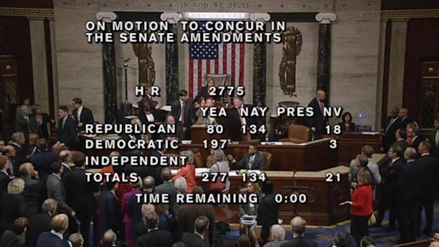 House floor stenographer charges dais, shouting