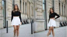 Alerta, tendencia veraniega: las faldas de tenista cambian las pistas por las calles