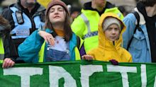Greta Thunberg tells climate rally 'I will not be silent while world is on fire'