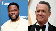 Kevin Hart jokes he kept coronavirus diagnosis secret because of Tom Hanks