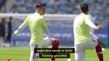 Arteta lehnt es ab, sich in das Drama um Mesut Özil verwickeln zu lassen