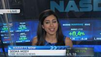 Nasdaq touches highest level since March 2000