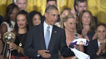 High school basketball jersey believed to be worn by President Obama auctioned off for $120,000