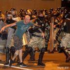Belarus election: Police violently suppress protests after 'dictator' Lukashenko declared winner