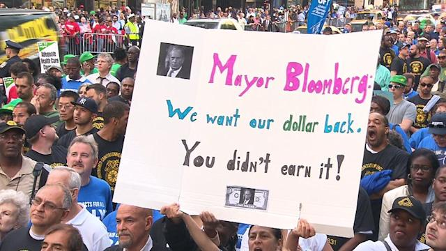 NYC Unions: `Give Us More Money`